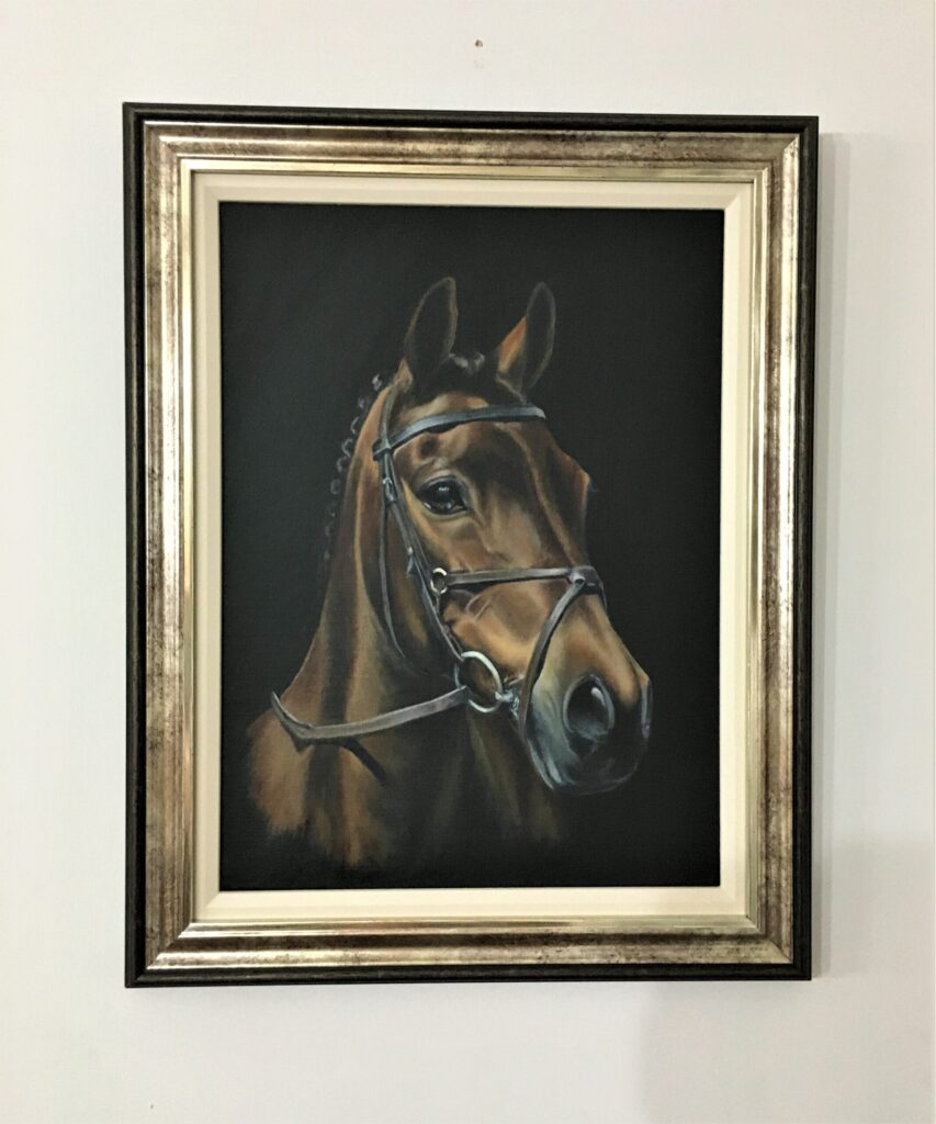 Art By Atcheson Equine Portrait - Oil on Canvas