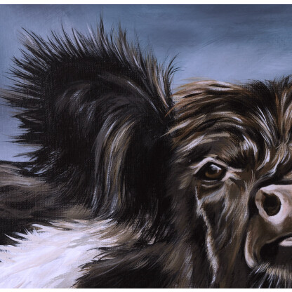 artbyatcheson detail of Beltie Bumble