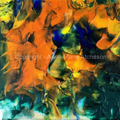 Urchin Abstract Print
